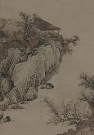 中國美術館藏捐贈作品展(國畫)