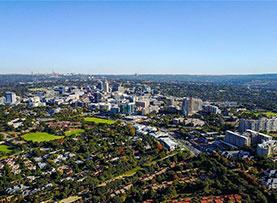 一帶一路·好風光|空中俯瞰南非最大城市約翰內斯堡