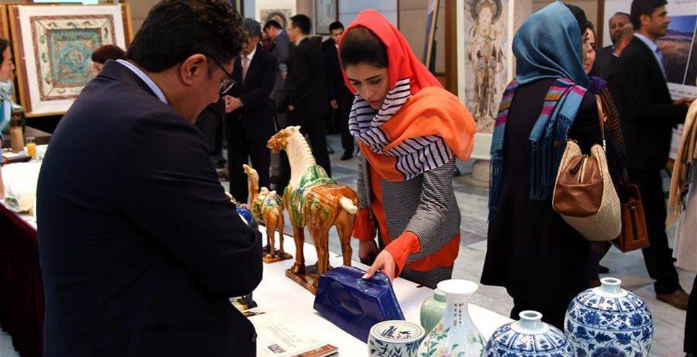 """""""絲綢之路文化之夜""""藝術展在阿富汗舉行"""