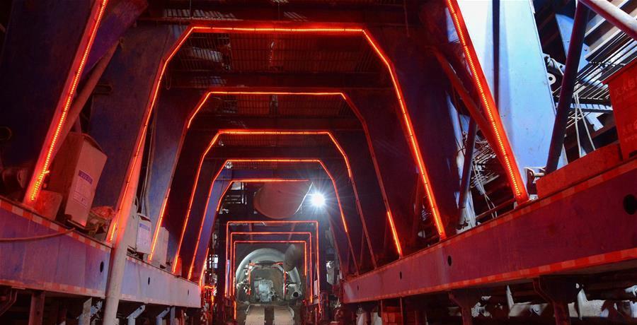 中老鐵路跨境隧道建設順利推進