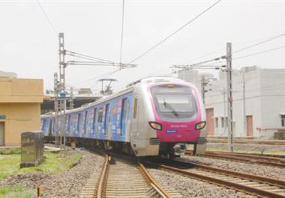 中國地鐵列車在印度贏得信賴