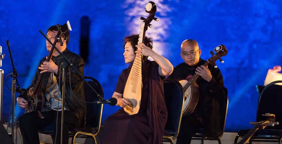 中國民樂奏響開羅薩拉丁城堡