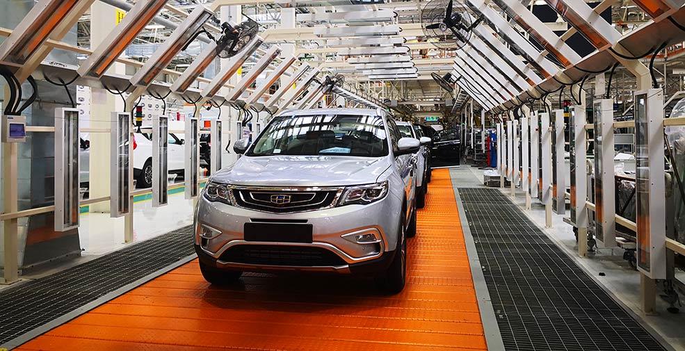 記白俄羅斯吉利汽車項目投産一周年