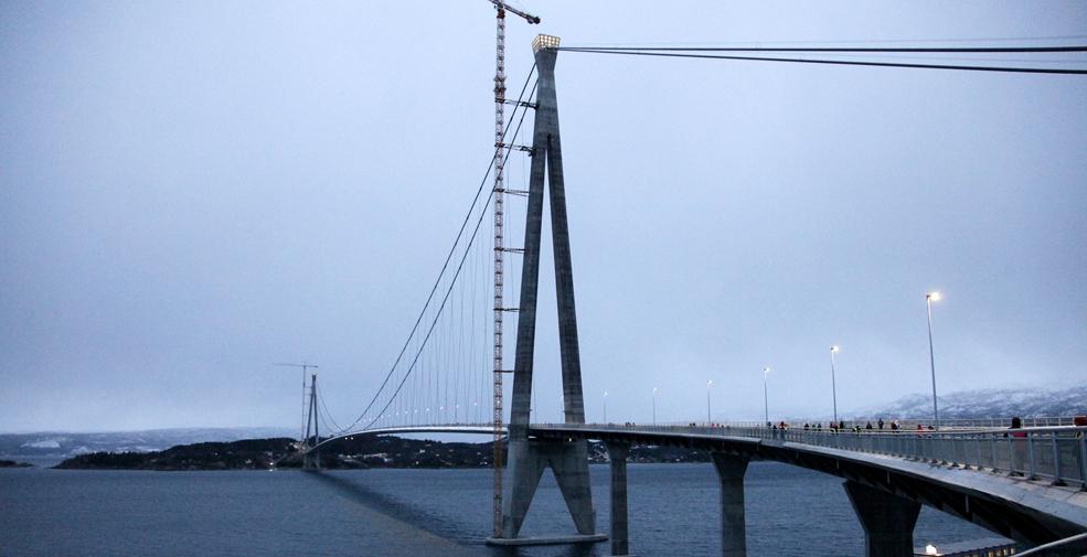 中企承建挪威第二大橋舉行通車典禮