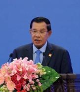 柬埔寨首相洪森:中國是偉大的朋友