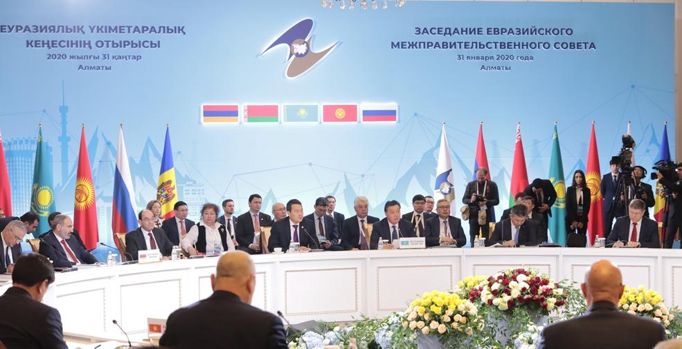 """俄總理:歐亞經濟聯盟與""""一帶一路""""倡議對接至關重要"""