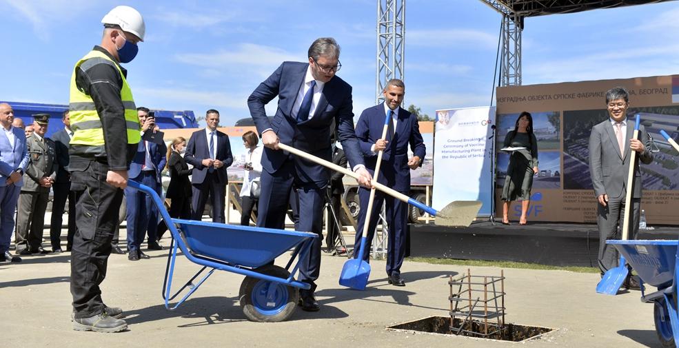 歐洲地區首家中國疫苗工廠奠基儀式在塞爾維亞舉行
