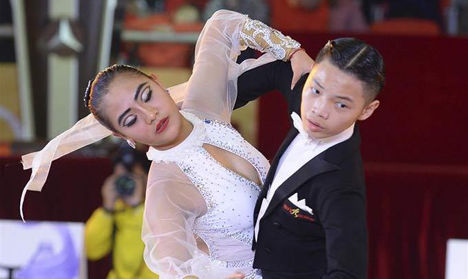 2016中國-東盟國際體育舞蹈公開賽開賽