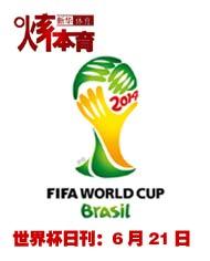 2014巴西世界杯日刊:6月21日