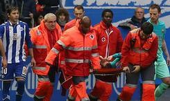 巴薩球員比達爾重傷 賽季提前報銷