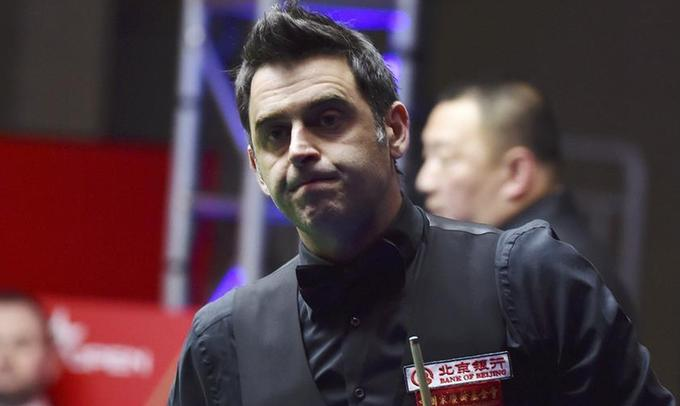 中國公開賽:羅尼·奧沙利文不敵馬克·喬伊斯
