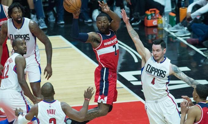 NBA常規賽:快船勝奇才