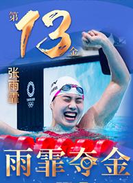 東京奧運會冠軍張雨霏