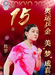 東京奧運會冠軍陳夢