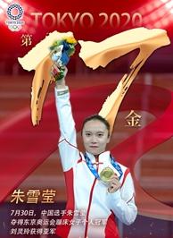 東京奧運會冠軍朱雪瑩