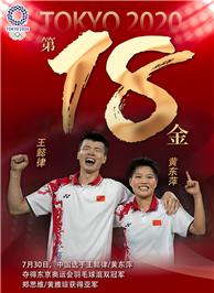 東京奧運會冠軍王懿律/黃東萍