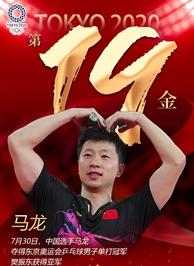 東京奧運會冠軍馬龍
