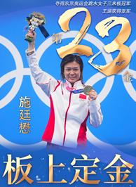 東京奧運會冠軍施廷懋