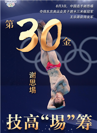 東京奧運會冠軍謝思埸