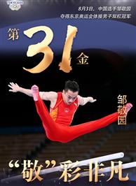 東京奧運會冠軍鄒敬園