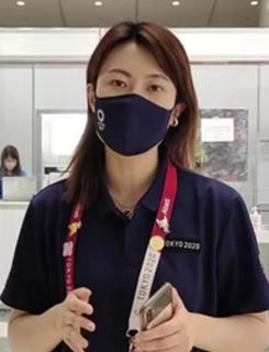 卡哇伊的東京奧運志願者