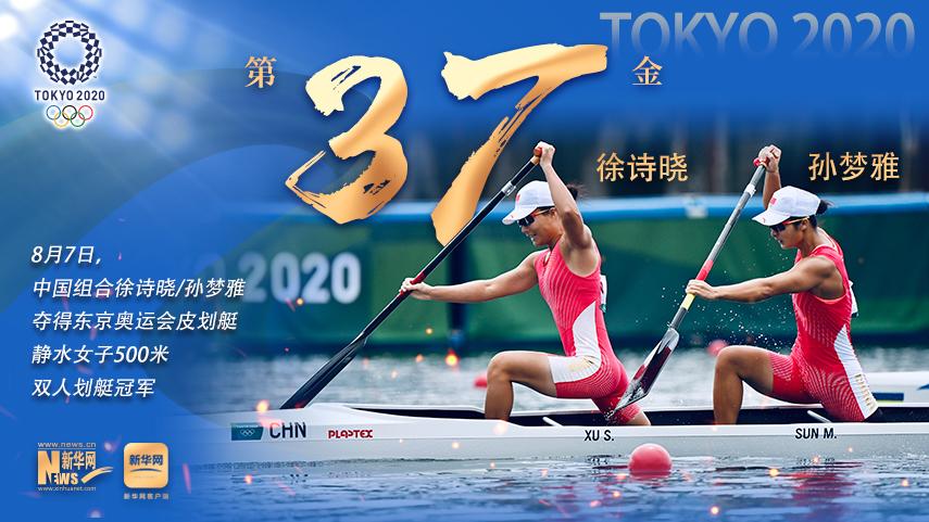 巔峰時刻丨第37金:徐詩曉/孫夢雅