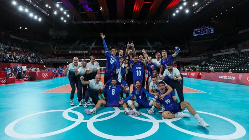 排球:法國男排奪冠