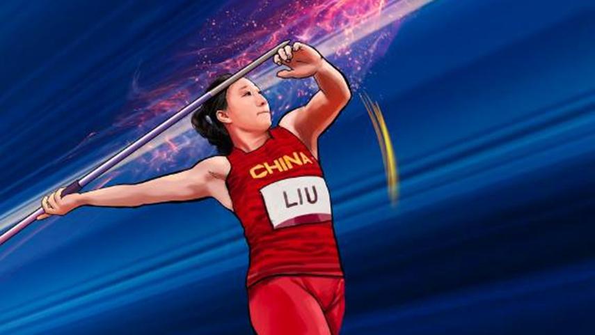 創意漫畫   奧運英雄——劉詩穎