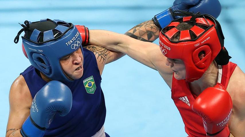 拳擊女子60公斤級決賽賽況