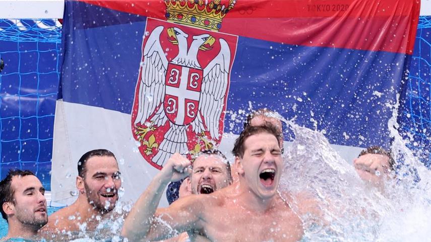 水球男子決賽:塞爾維亞奪冠
