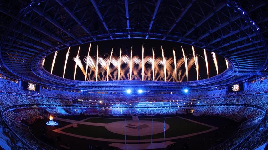 東京奧運會閉幕式舉行