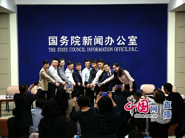 國新辦中外記者見面會:中國共産黨年輕黨員代表與中外記者見面並答記者問