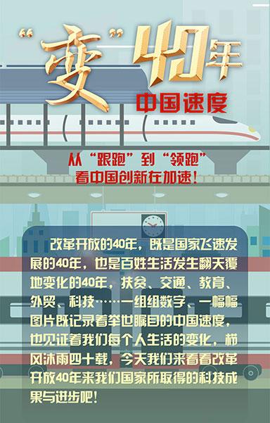 """從""""跟跑""""到""""領跑"""" 看中國創新在加速!"""