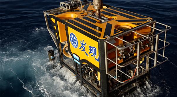 """""""發現""""號在南海採集到大量冷泉生物"""