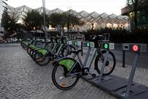裏斯本共享單車正式投入運營