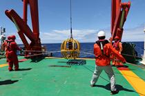 中國海洋科考多圈層同步作業