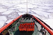 中國南極新建站裝備運上恩克斯堡島