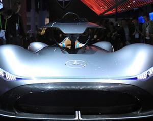 車企閃耀拉斯維加斯消費電子展