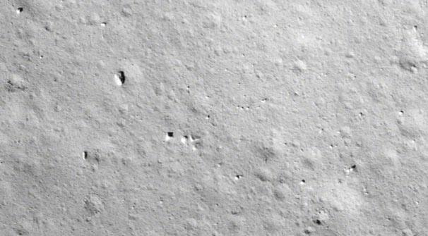 高清大圖來了!嫦娥五號第一時間傳回著陸影像