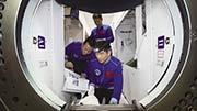 航天員在太空也需鍛煉 吃飯5天不重樣