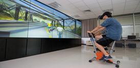 π動騎行交互體驗虛擬世界