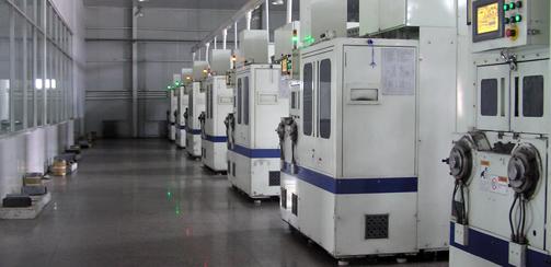 晶龍硅片加工中心