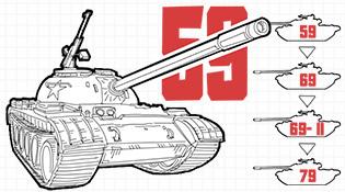 畫説第一代國産主戰坦克