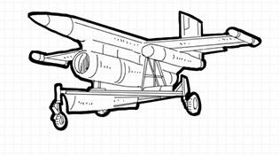 畫説第一架軍用無人機