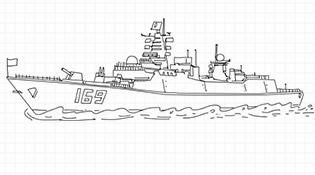 畫説中國海軍第一批護航編隊