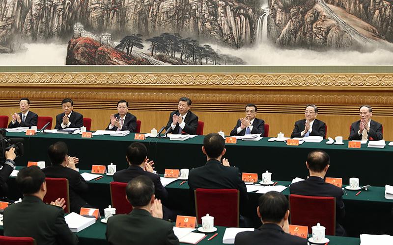 黨的十九大主席團舉行第二次會議