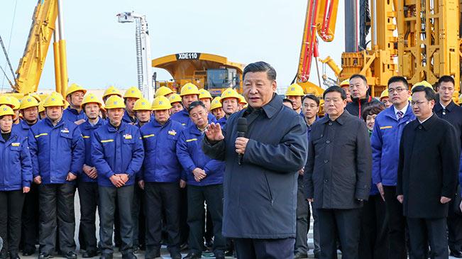 習近平在江蘇徐州市考察