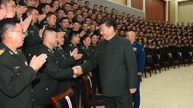 習近平視察第71集團軍