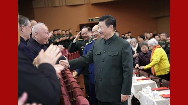 習近平向全軍老同志祝賀新春