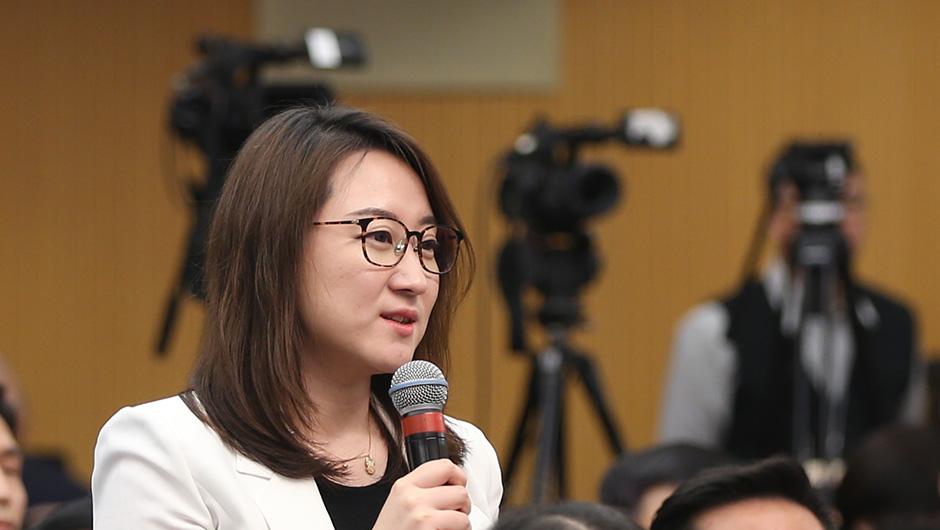 中央廣播電視總臺央視記者提問